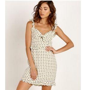 For Love and Lemons Sweetheart Mini Dress Sz Large